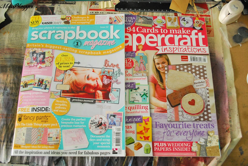 Scrapbooking in london teil 2 magazine kaffeeliebelei - Scrapbook ideen ...