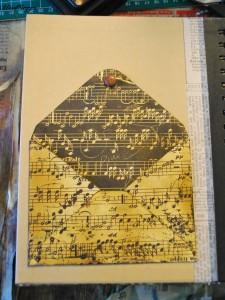 Fancy Pants Brag Book: Innenseite mit Umschlag für Kleinkram