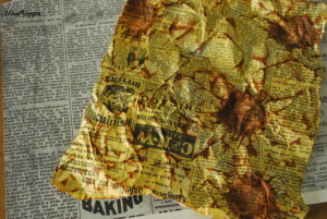 Scrapbooking-Technik: Distressing