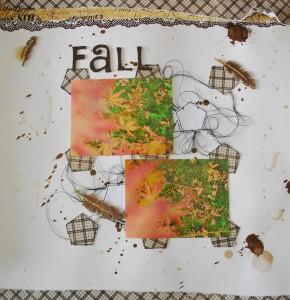 Scrapbooking: Layout Fall