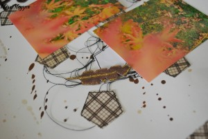 Scrapbooking: Layout Fall - Details