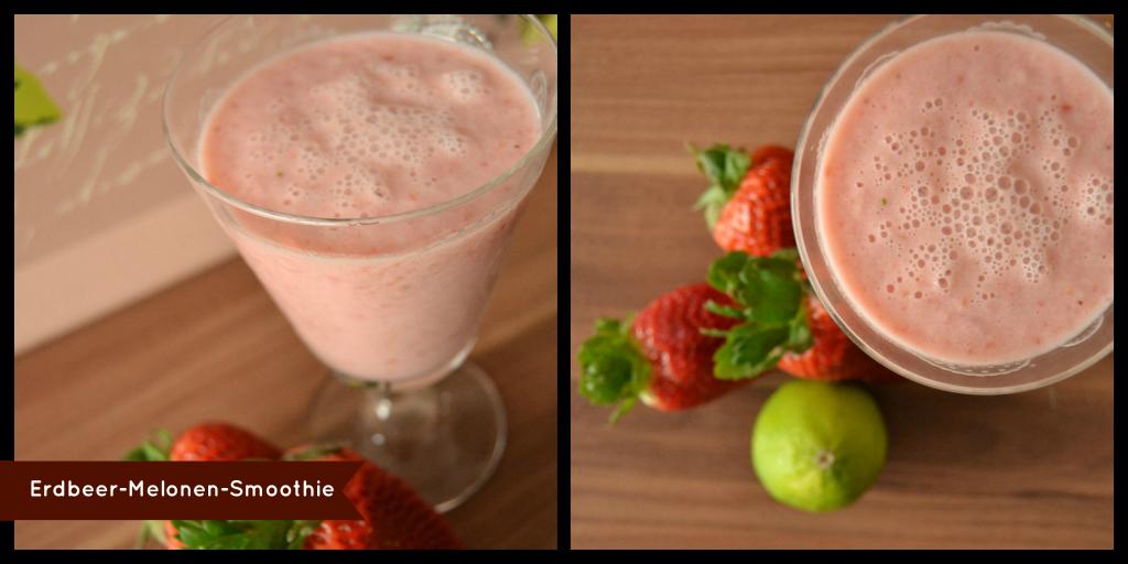 rezept erdbeer melonen smoothie kaffeeliebelei. Black Bedroom Furniture Sets. Home Design Ideas