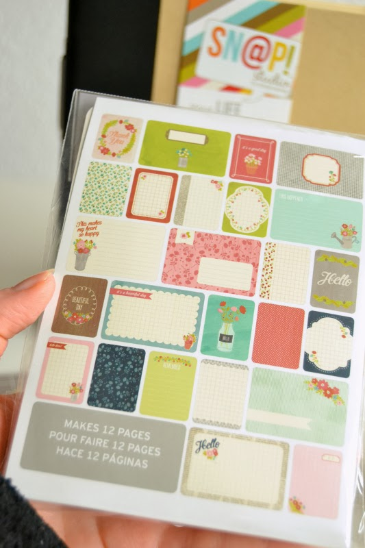 Project Life / Becky Higgins Themed Cards Floral
