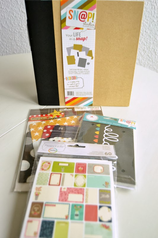 Simple Stories - Oh Sn@p-Produkte und Project Life Cards