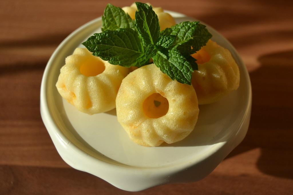 Vegane Mandarinen-Mini-Gugl