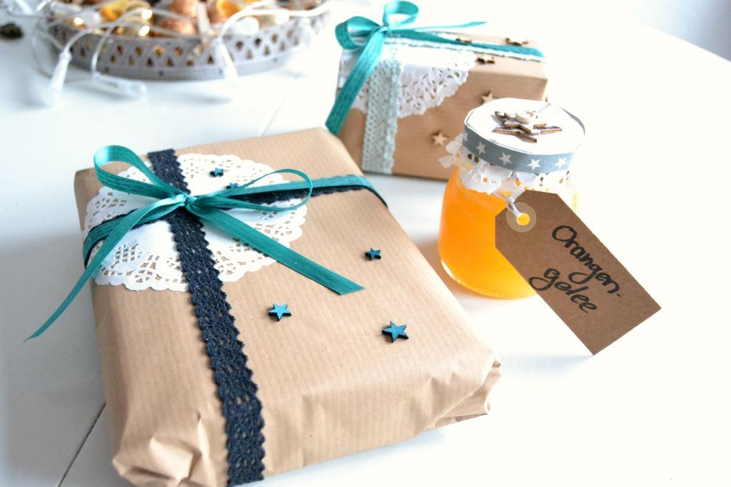 Weihnachtsgeschenke hübsch verpackt - ~ kaffeeliebelei ~